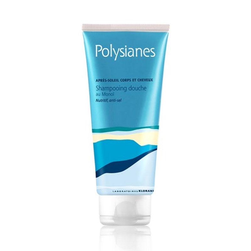 POLYSIANES Shampooing Douche Apres Soleil au Monoi 200ml
