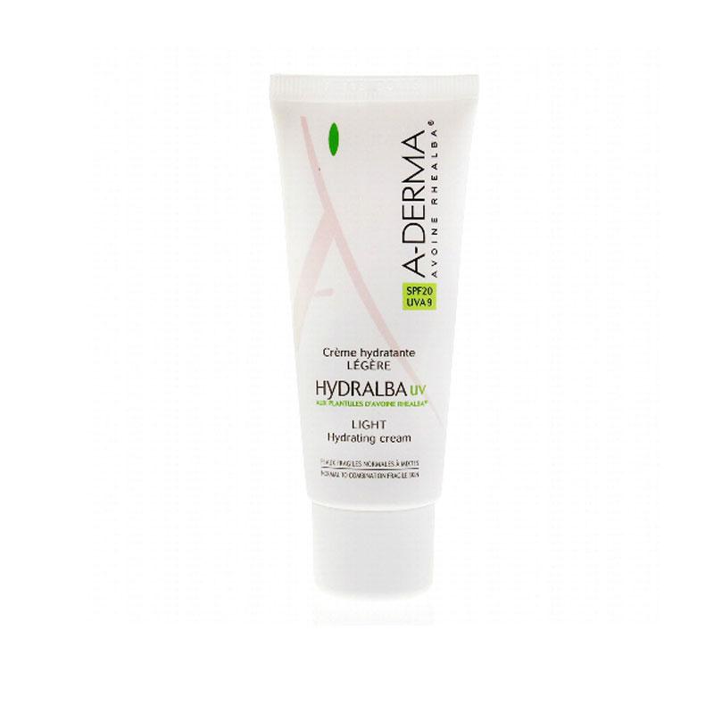 A-DERMA Hydralba UV LEGERE Light hydrating cream SPF 20 40ml