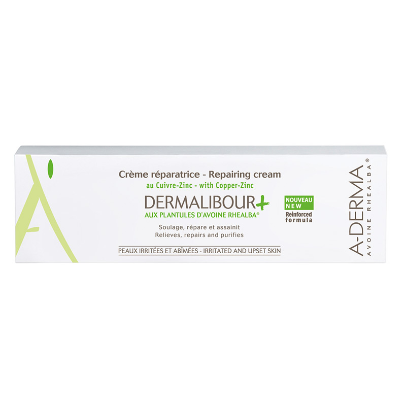 A-DERMA Dermalibour + Crème with Copper-Zinc 50ml