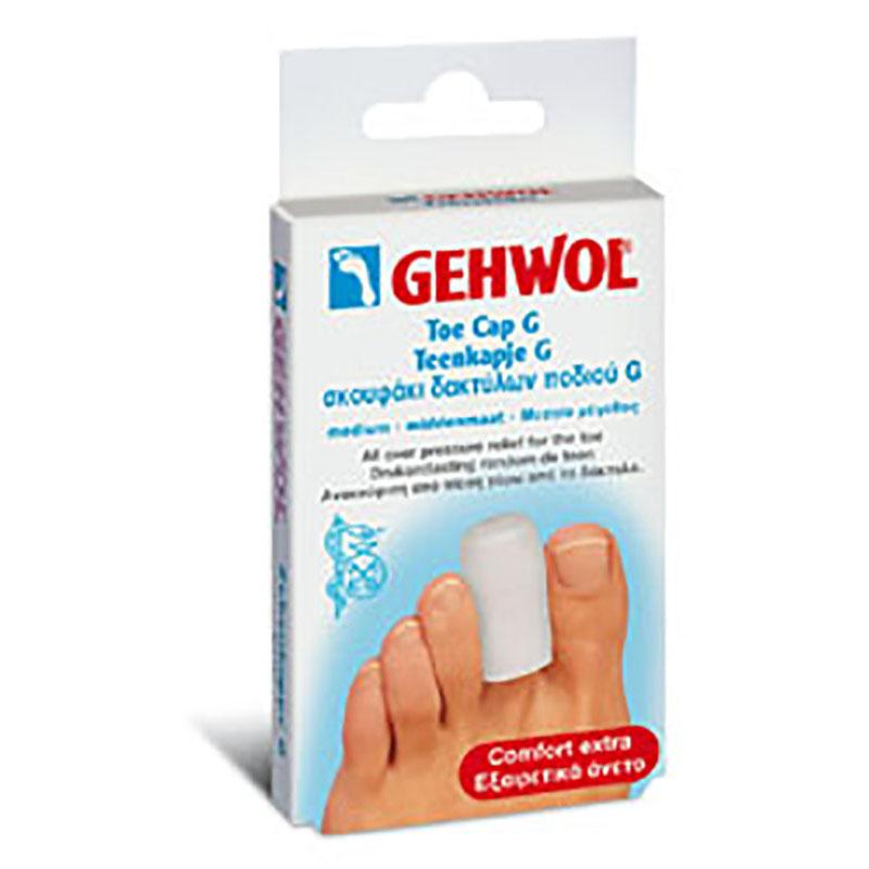 GEHWOL Toe cap G medium Σκουφάκι δακτύλων ποδιού G μεσαίο 2 τεμ.