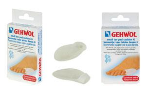 GEHWOL Toe Pad Cushion G small Προστατευτικό κέλυφος G για τα μικρά δάκτυλα 1 τεμ.