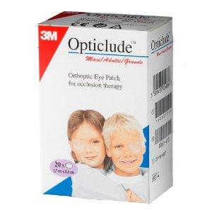 3M Opticlude Maxi , μεγάλο μέγεθος , 20 τμχ/κουτί