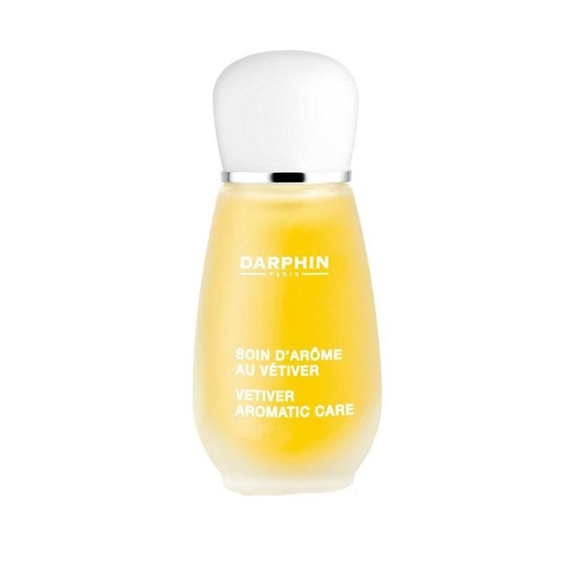 Darphin Essential Oil Elixir Vetiver Aromatic Care Stress Relief Detox 15ml
