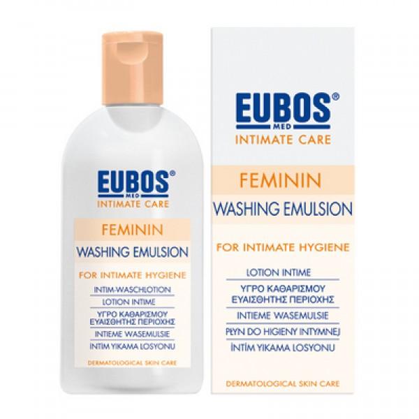 EUBOS FEMININ LIQUID 200 ml -Yγρό Καθαρισμού Ευαίσθητης Περιοχής