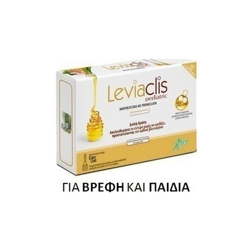 Aboca Leviaclis Μικροκλύσματα για Bρέφη και Μικρά Παιδιά 6x5g