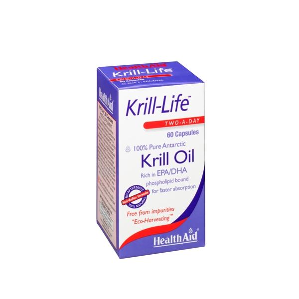 HEALTH AID Krill-Life 100% Pure Antarctic 60caps