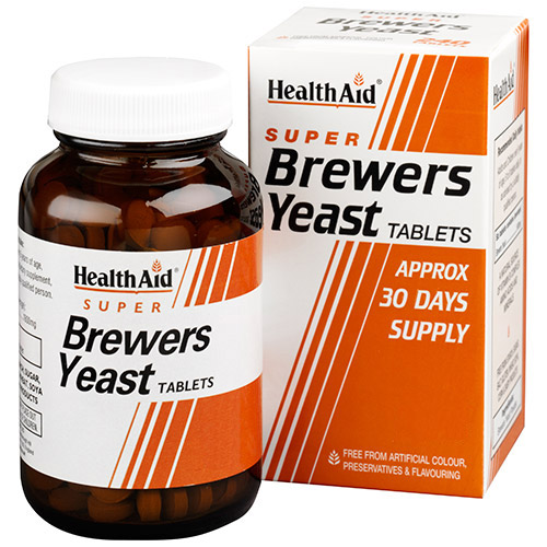 Health Aid Brewers Yeast Μαγιά Μπύρας 300mg 500tabs