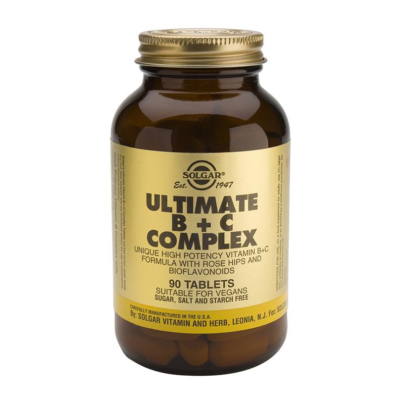 SOLGAR ULTIMATE B+C COMPLEX 90tabs