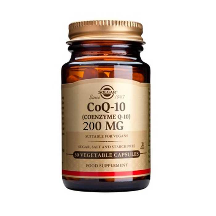 SOLGAR CoQ-10 (COENZYME ) 200mg 30veg.caps
