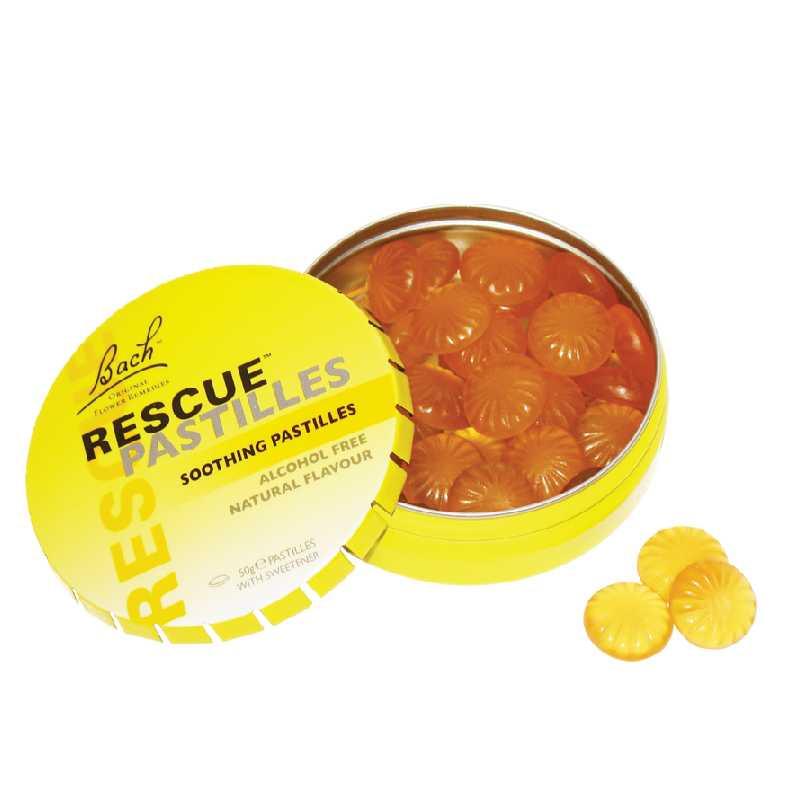 Power Health Bach Rescue Pastilles (πορτοκάλι) 50g
