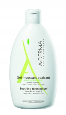 A-DERMA GEL MOUSSANT APAISANT SOOTHING FOAMING GEL 250ml