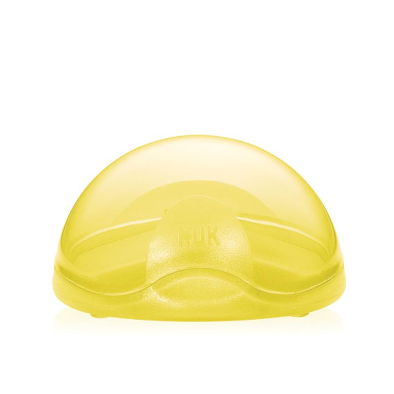 NUK Θήκη αποθήκευσης Πιπίλας (Κίτρινη) 1pic