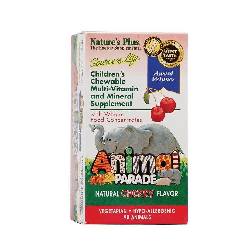 NATURES PLUS Animal Parade Cherry 90chew.tabs