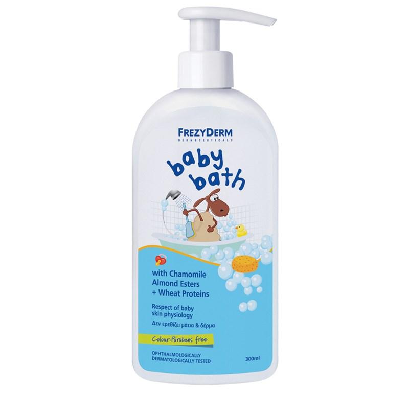 FREZYDERM BABY BATH 200ml + Δώρο επιπλέον 100ml