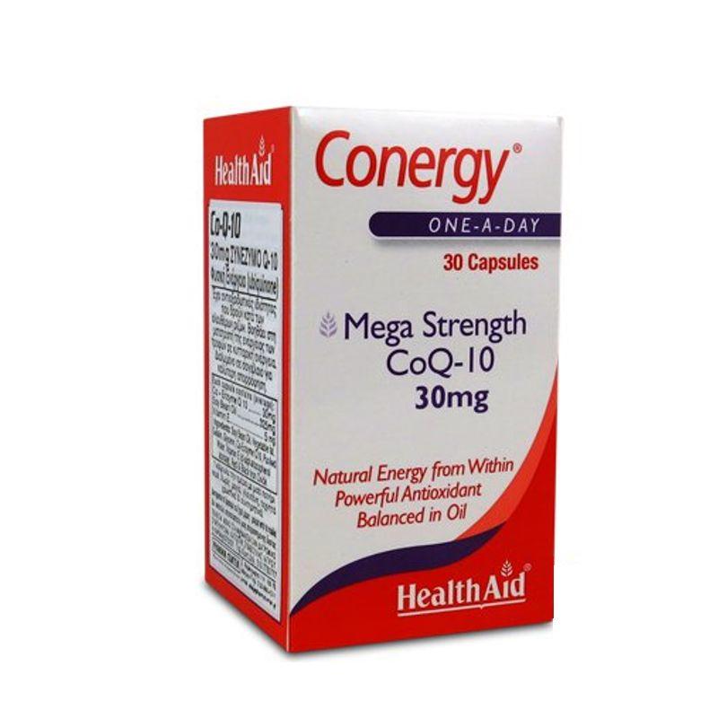 HEALTH AID CONERGY Mega Strength CoQ-10 30mg(30caps)