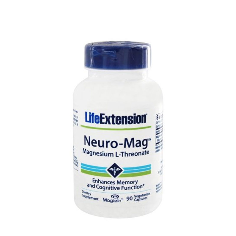 Life Extension Neuro Mag Magnesium L Threonate, 90 vcaps