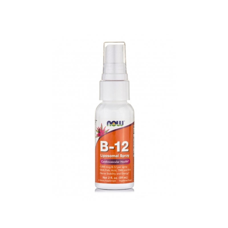 NOW B-12 Liposomal Spray - 59ml