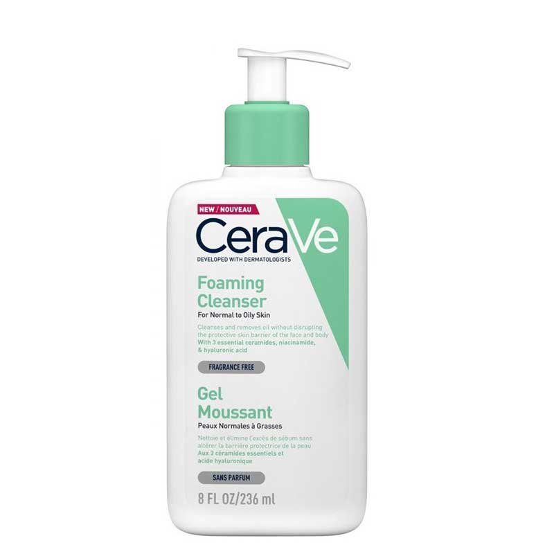 Cerave Foaming Cleanser Gel Καθαρισμού 236ml
