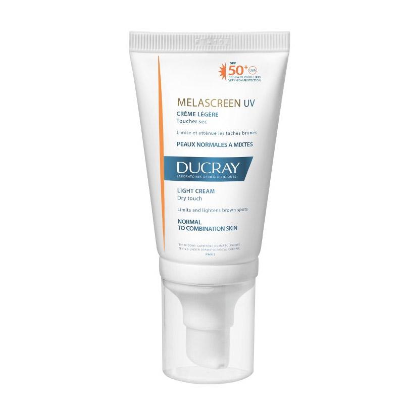 Ducray Melascreen Photoprotection Light Cream SPF 50+ UVA 40ml