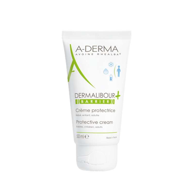 A-Derma DERMALIBOUR+ Protective Cream για το Ερεθισμένο & Ταλαιπωρημένο Δέρμα,100ml