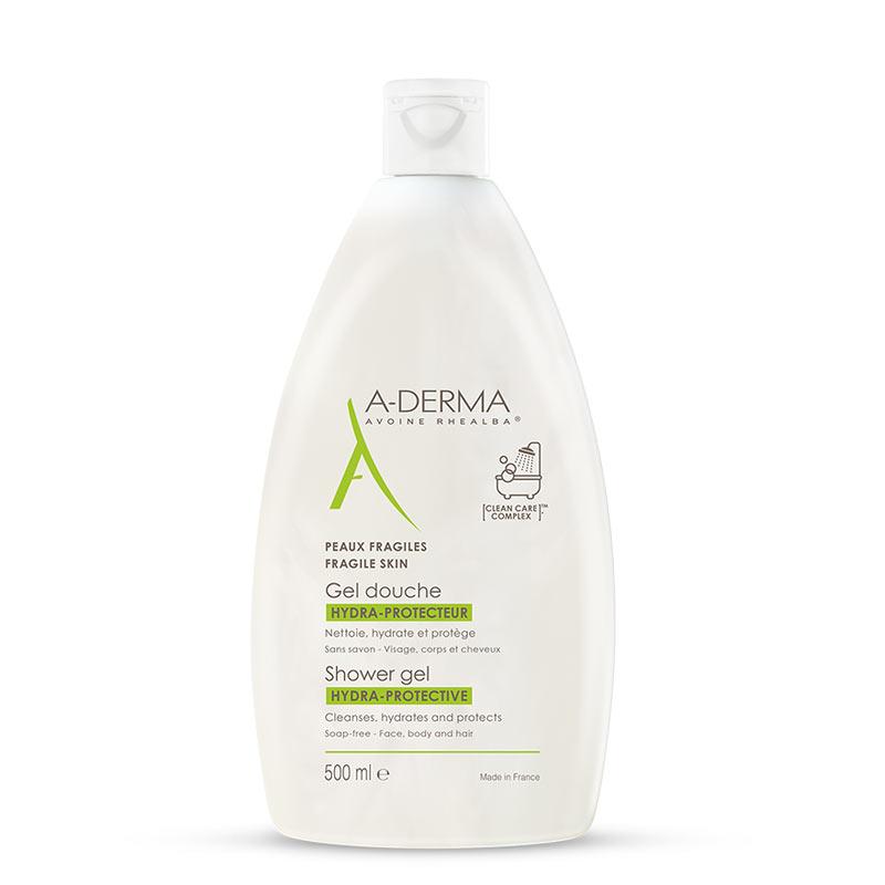 A-Derma Shower Gel Hydra-Protective Ευαίσθητες Επιδερμίδες 500ml