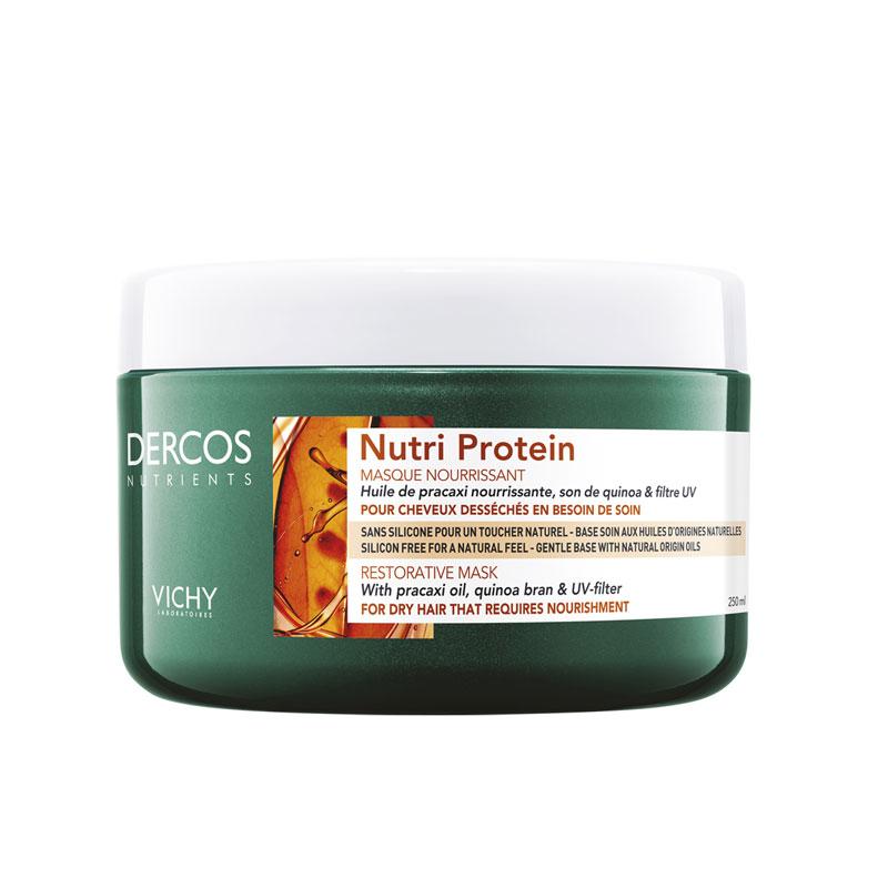 Vichy Dercos Nutri Protein Restorative Mask  Αναδόμησης για Ξηρά Μαλλιά 250ml