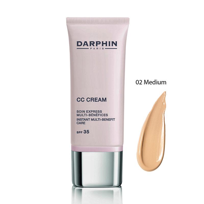 DARPHIN CC CREAM Instant Multi-Benefit Care SPF35 - 02 MEDIUM (30ml)