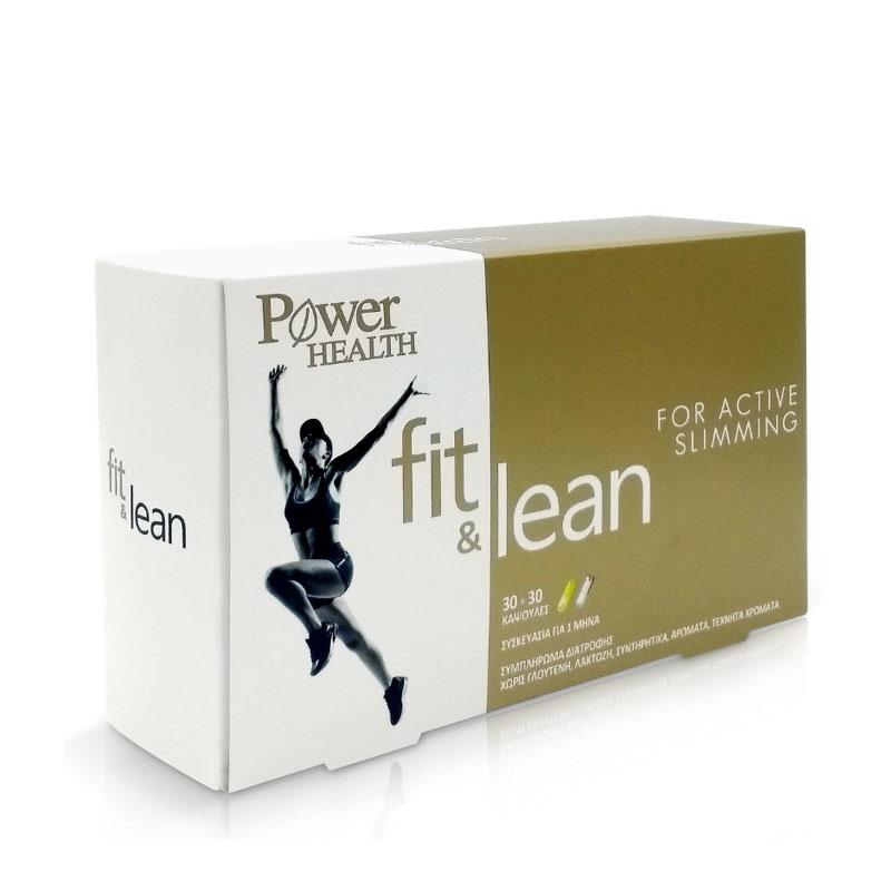 Power Health Fit & Lean 60Caps