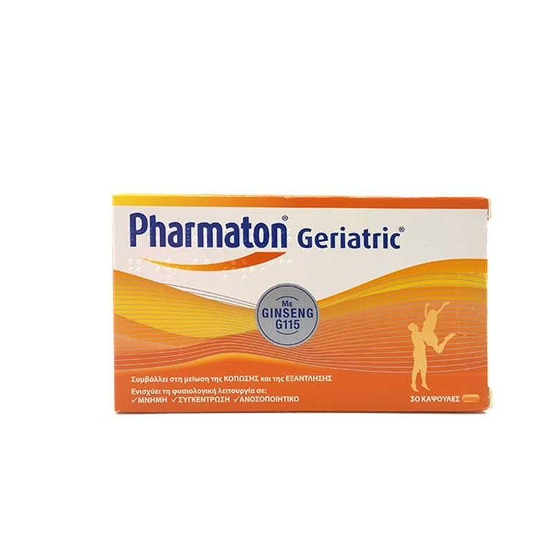 Pharmaton Geriatric Πολυβιταμίνη με Ginseng 30caps