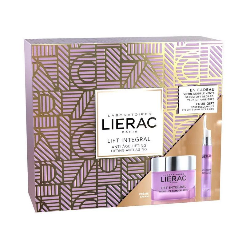 Lierac Promo Pack Lift Integral Sculpting Lift Cream 50ml + Lierac Lift Integral Eye Lift Serum Eyes and Lids 15ml
