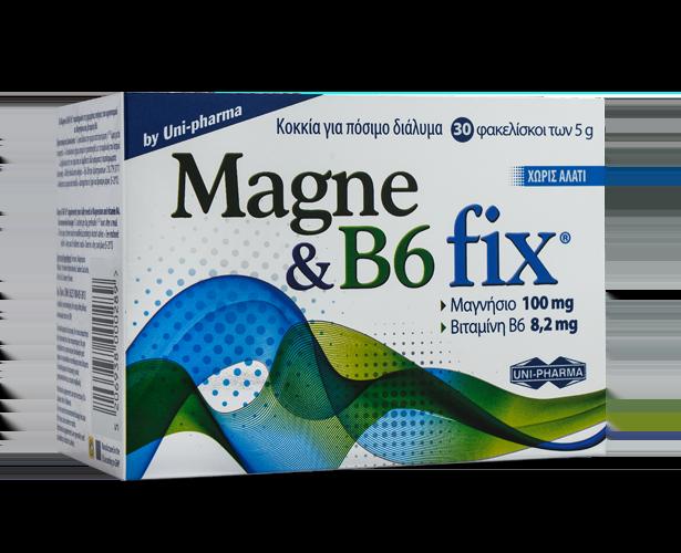UNI PHARMA  Magne & B6 Fix -30sach.