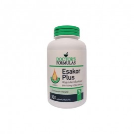 Doctors Formulas Esakor plus  1444mg 180softgels - Ωμέγα 3 Λιπαρά Οξέα