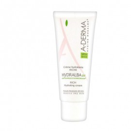 A-DERMA Hydralba UV Rich hydrating cream SPF 20, 40ml