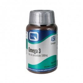 QUEST OMEGA 3 fish oil concentrte 1000mg 45caps
