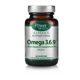 Power Health Classics Platinum Range Omega 3.6.9 30caps