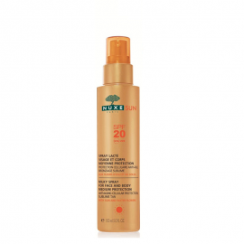 NUXE SUN Milky Spray for Face and Body Γαλάκτωμα για Πρόσωπο & Σώμα SPF20, 150ml