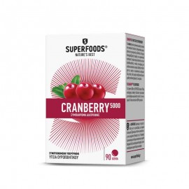 SuperFoods CRANBERRY 5000 - 90tabs