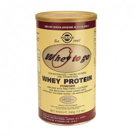SOLGAR WHEY TO GO PROTEIN Powder Βανίλια 340gr