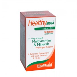 Health Aid Healthy MEGA-multivit 30tabs