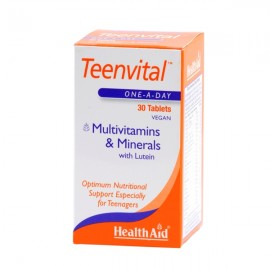 Health Aid TEENVITAL multivitamins 30tbs