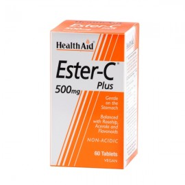 Health Aid ESTER C 500mg WITH BIOFLAVONOIDS 60tabs