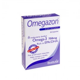 HEALTH AID Omegazon Omega3 Λιπαρά οξέα 750mg, 30caps