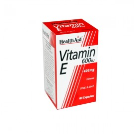 Health Aid Vitamin E 600 i.u. (496mg) Βιταμίνη Ε 60caps
