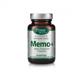 Power Health Classics Platinum Range Memo+ 30δισκία