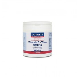 Lamberts VITAMIN C- Time 1000mg 60 Tablets