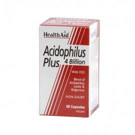 Health Aid Acidophilus Plus 4 billion 60caps