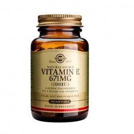 SOLGAR Vitamin E 671mg (1000 IU) 100softgels