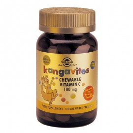 SOLGAR KANGAVITES VITAMIN C 100mg 90chewable tabs (πορτοκάλι)