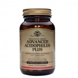 SOLGAR ADVANCED ACIDOPHILUS PLUS 60veg.caps