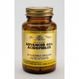 SOLGAR ADVANCED 40+ ACIDOPHILUS 60veg.tabs